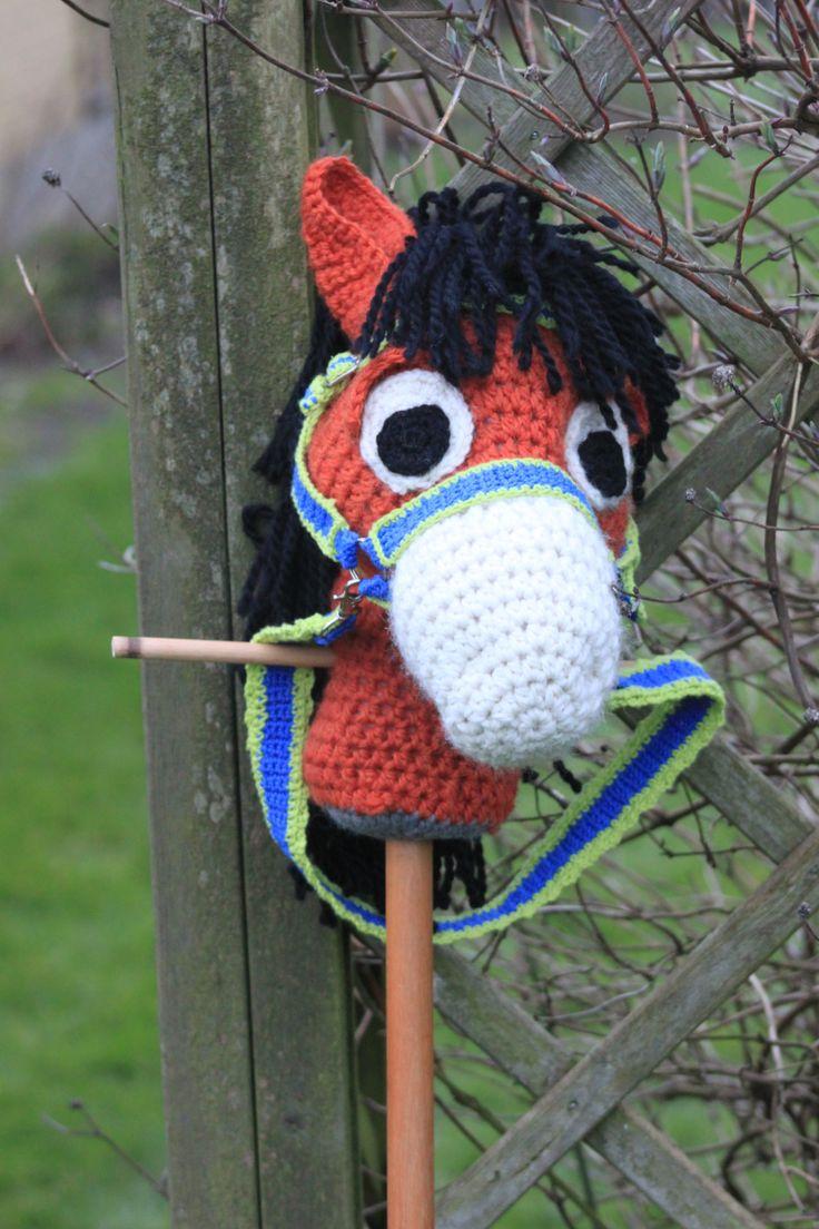 Kæphesten Konrad  #kaephest #haekling #hobbyhorse #crochet