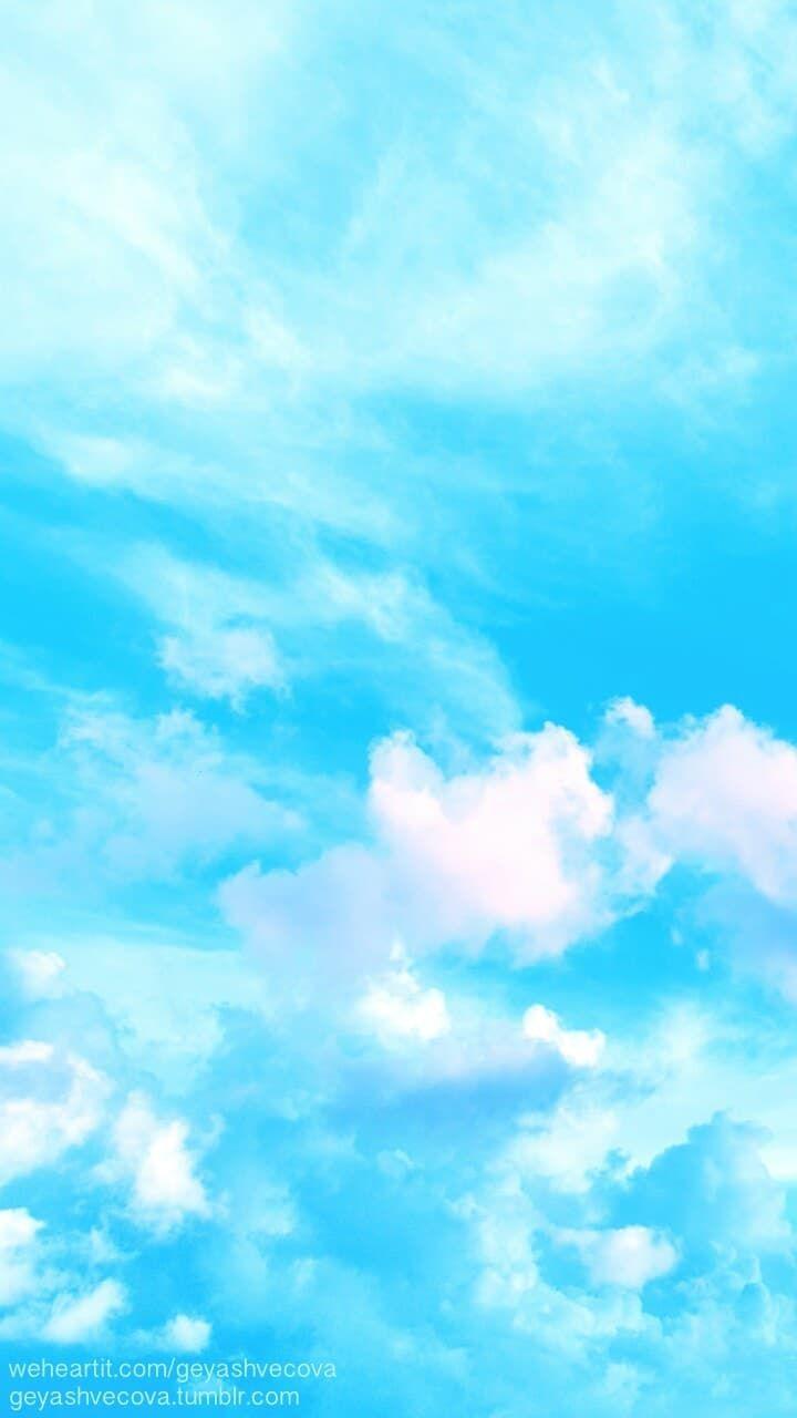 Cute Sky Blue Wallpapers