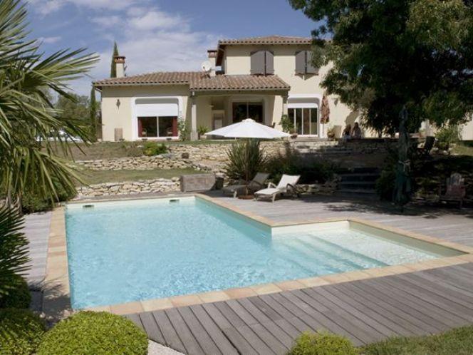Les 25 meilleures id es concernant piscine rectangulaire for Piscine demontable rectangulaire