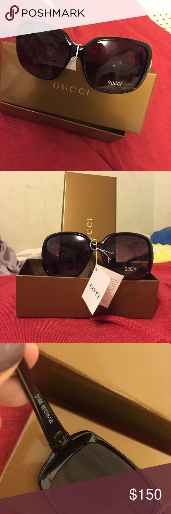 Gucci new sunglasses! 🕶🕶 super cute/elegant sunglasses😎😎😎💕💕💕 Gucci Accessories Sunglasses