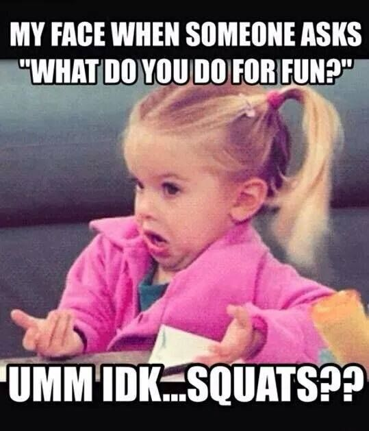 Squat Meme - Gym Memes - Fitness Memes #crossfit #gym #funny-----my life :D