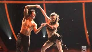 SYTYCD Kathryn and Ryan samba, via YouTube.