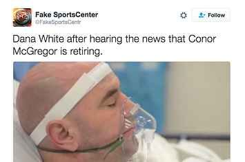 """UFC And WWE Fans Are Freaking Out Over Conor McGregor's """"Retirement"""""""