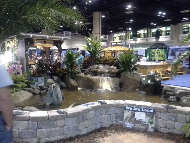 Beautiful landscaping and custom fountains