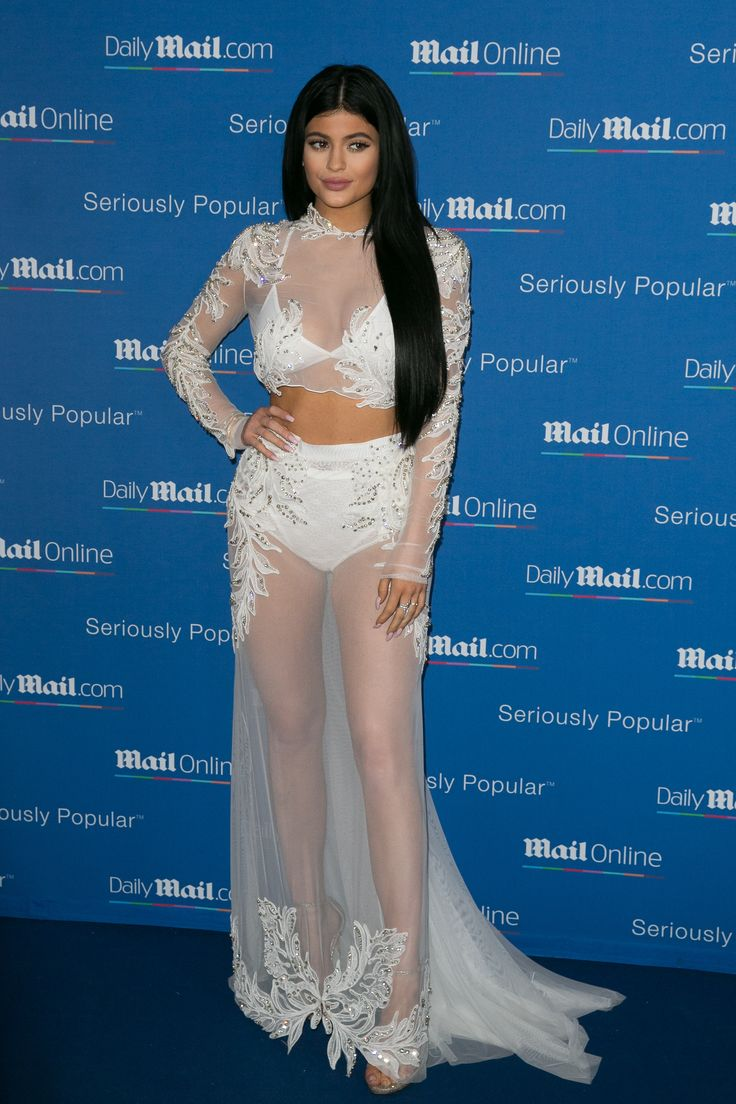 Kylie Jenner's Sheer Matching Set Takes Sexy to a New Level
