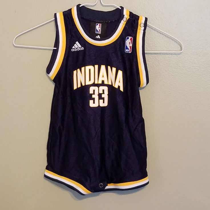 INDIANA PACERS DANNY GRANGER TOODLER BASKETBALL JERSEY SIZE18 MONTHS