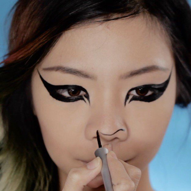 106 best Halloween images on Pinterest | Makeup ideas, Diy makeup ...