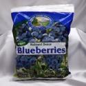 Organic frozen blueberries