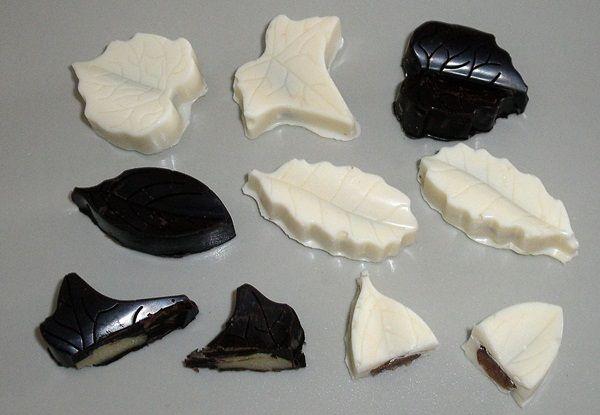 Domácí čokoládové pralinky - čokolístečky