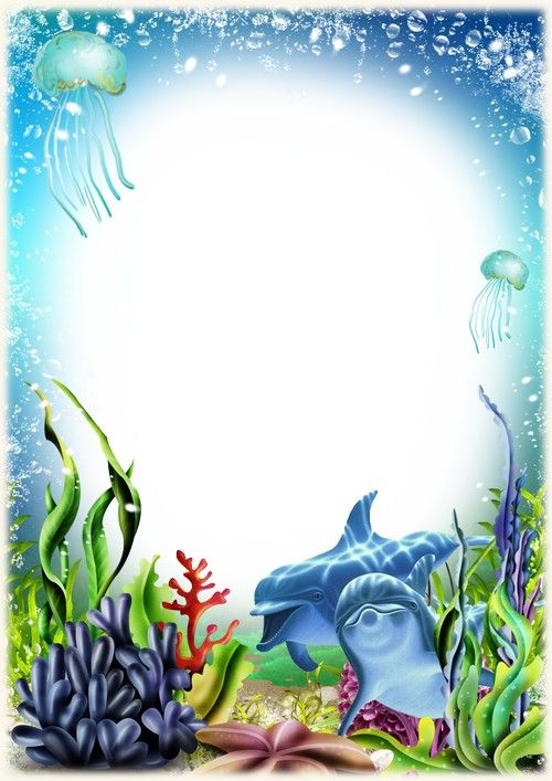 Image Result For Under The Sea Border Frame Kendall 8th