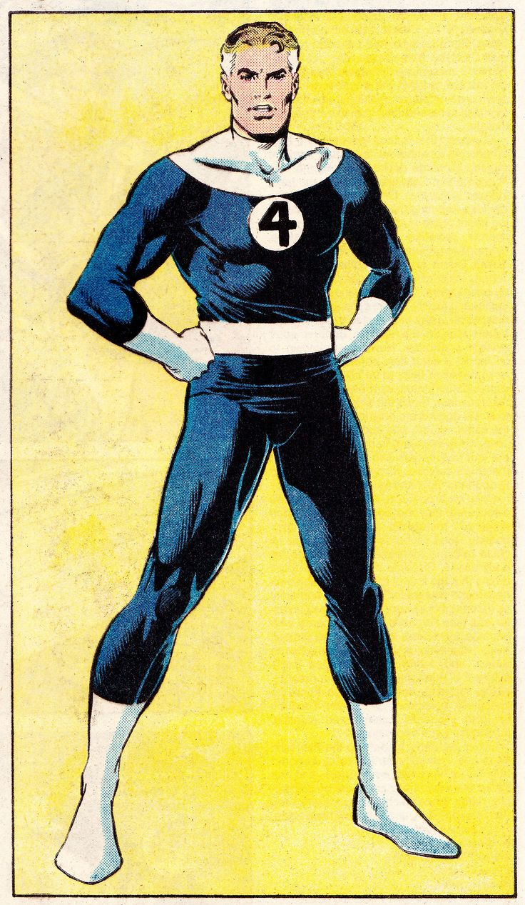 Reed Richards Mister Fantastic By Jerry Ordway