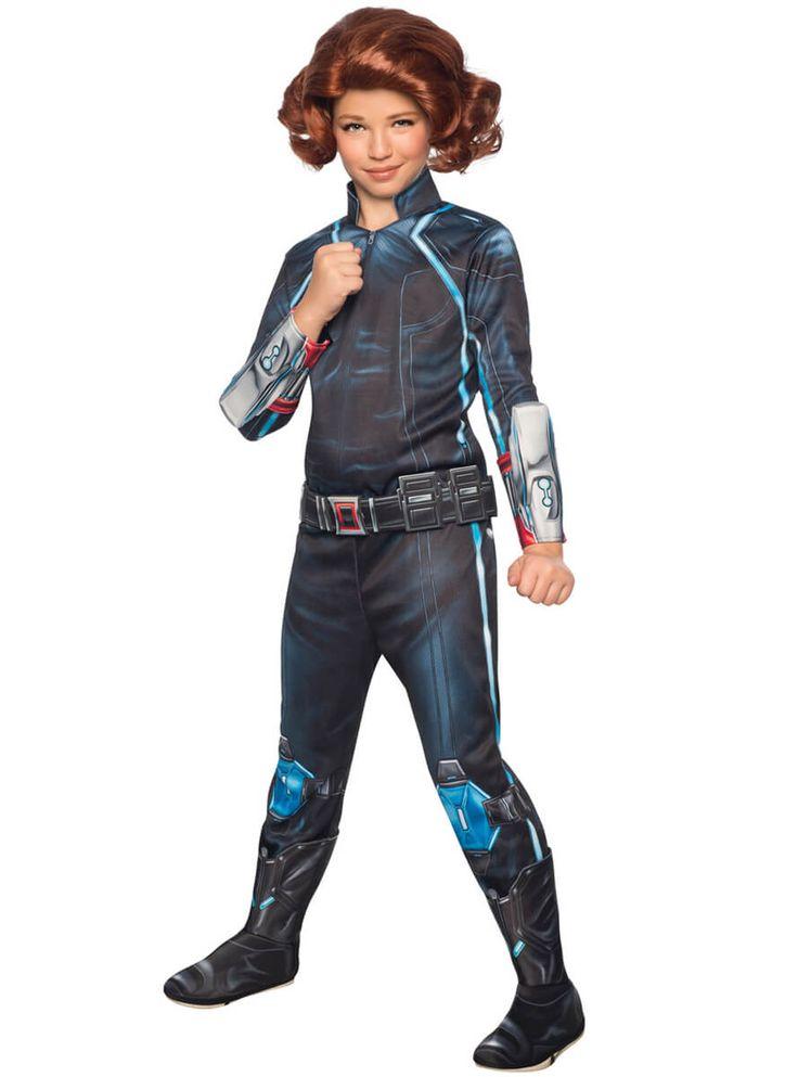 Disfraz de Viuda Negra Vengadores: Era de Ultrón para niña