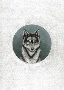 «Дух волка в таёжном спектре». Тимур Кошка. #helloposter #poster #posters #art #modernart #printart #illustrators #illustration