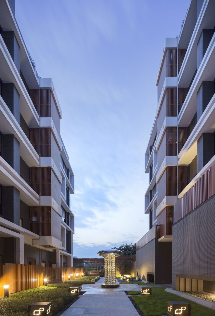 Completed in 2015 in Taipei, China. Images by Highlite Images. The Site  The apartment complex is based in Qiyan, located on a mountain slope at the outskirts of the Taipei Basin. As its name suggests, qiyan...