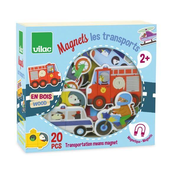 Vilac magneter i træ, transport