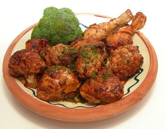 Græsk kyllingefad
