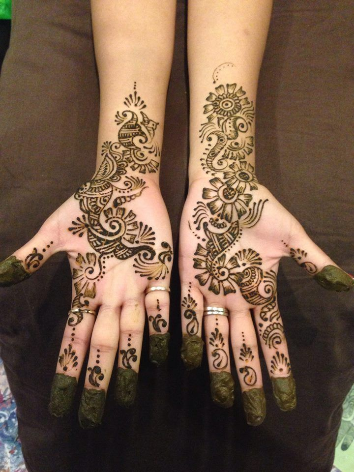 Best Mehndi Makeup : Best images about indian small mehndi henna design on