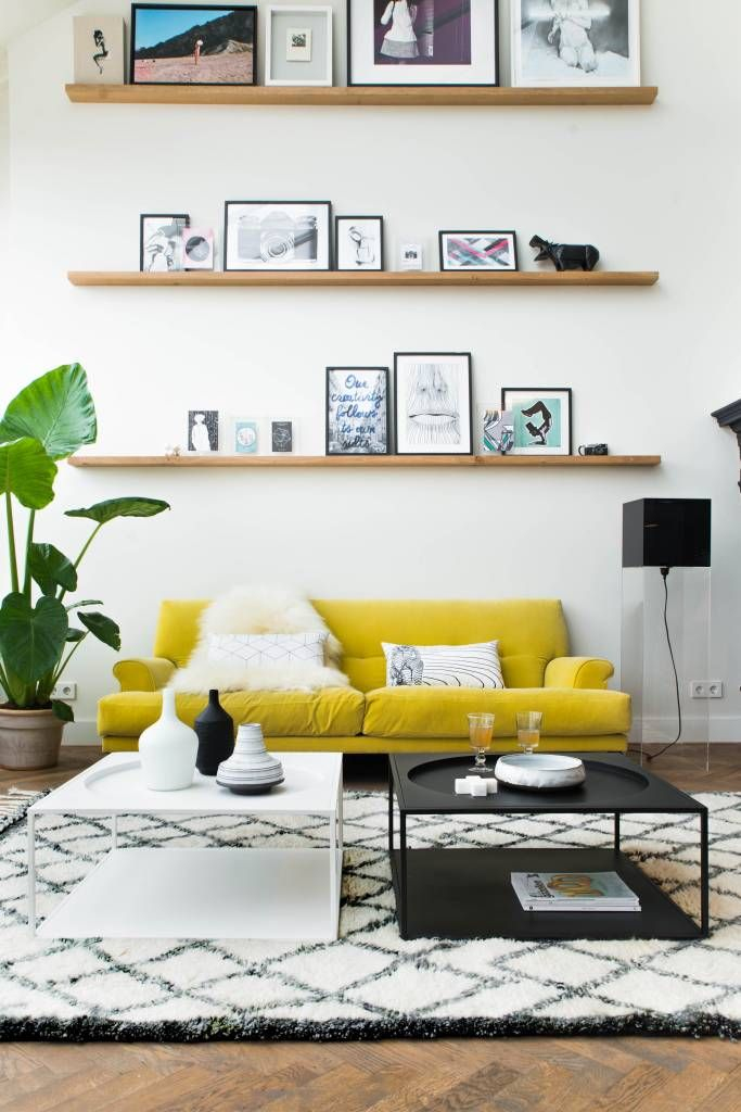 yellow sofa for our future home