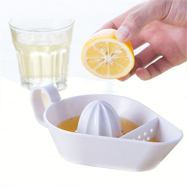 1Pc Plastic Kitchen Fruit Tool Manual Juicer Lemon Squeezer Lime Citrus #SILIKOWHITE #food #cooking #home #kitchen
