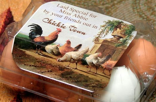Homestead Revival Inspiration Friday Chicken Carton