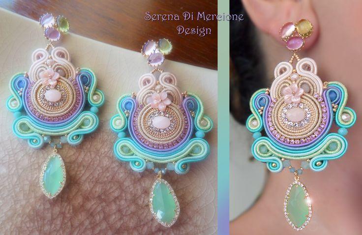 Soutache Earrings - Designed by Serena Di Mercione