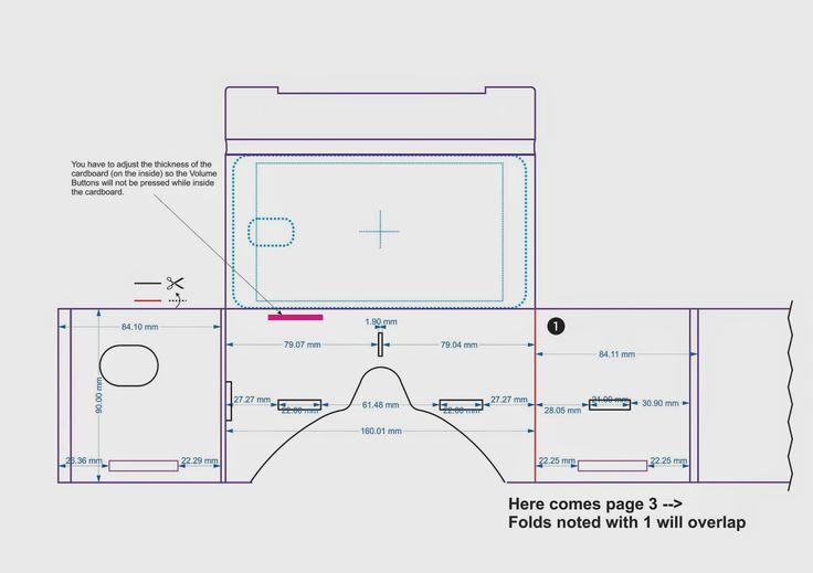 google cardboard pattern google search vr headset pinterest