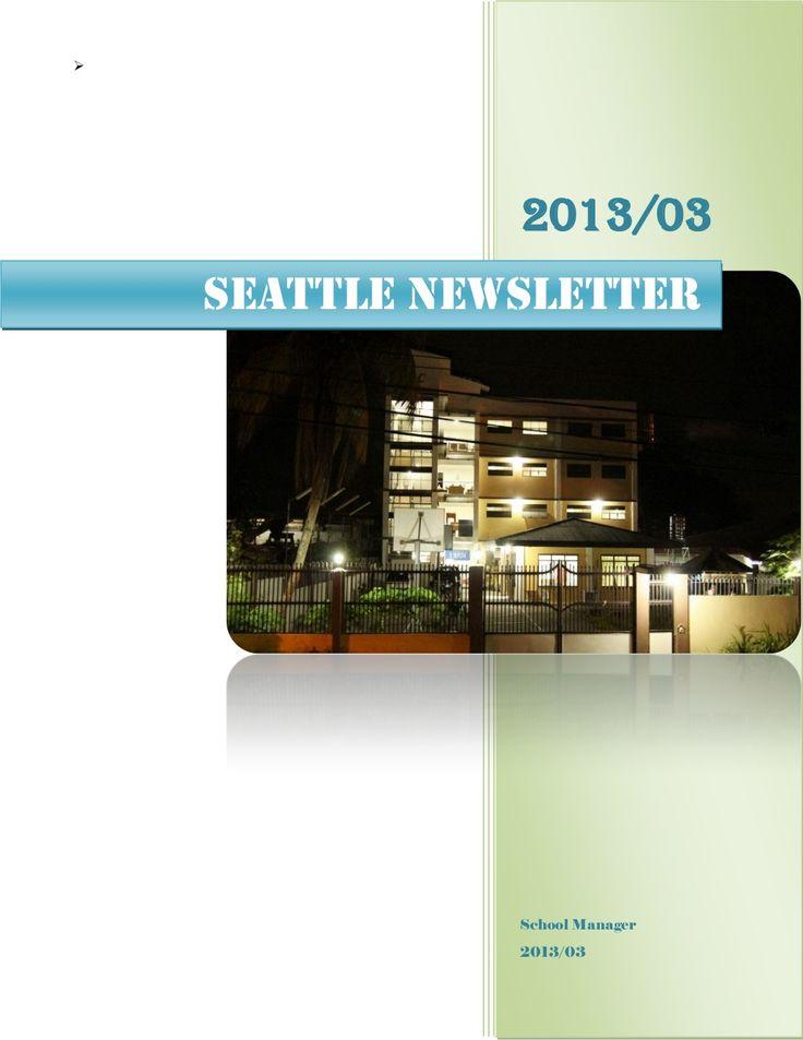 ダバオ Seattle 英語学校ニュース2015.3 TOEFL試験対策フィリピン留学  by フィリピン留学会社 フィルイングリッシュ via slideshare