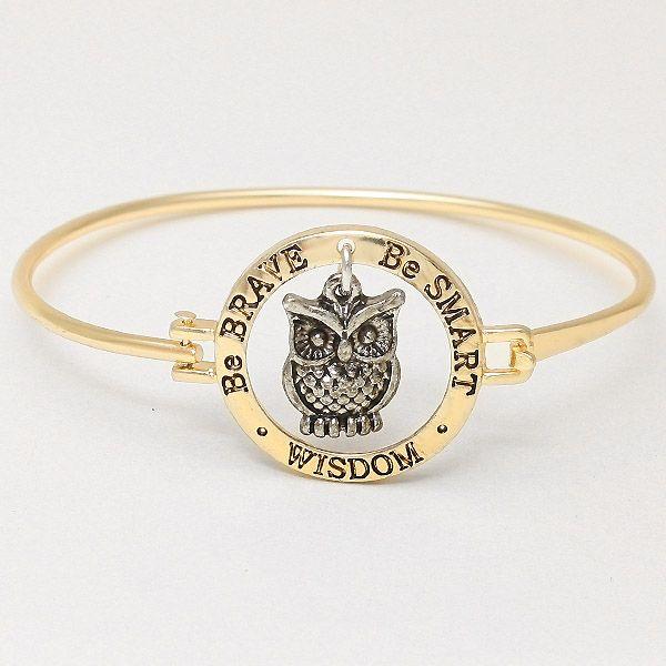 I think I need this! Wisdom Bracelet in Gold on Emma Stine Limited