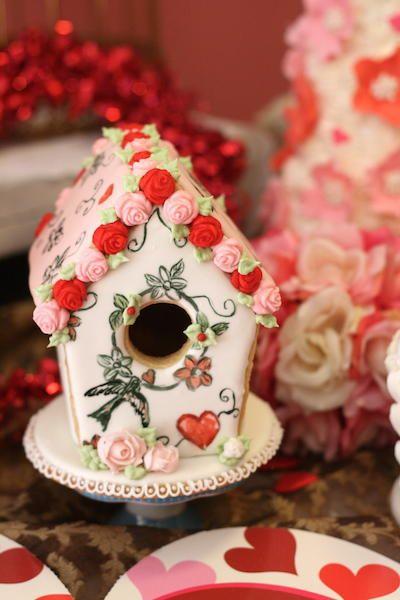Valentines birdhouse | Cookie Connection
