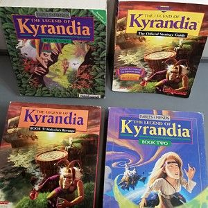 The Legend of Kyrandia Book 1 2 3 Retro Adventure Games