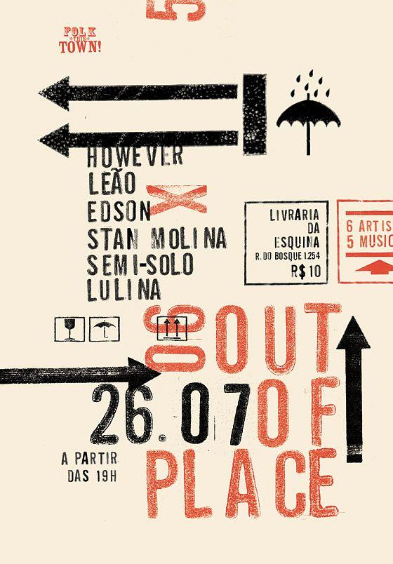 FOLK THIS TOWN! - Rodrigo Sommer Design