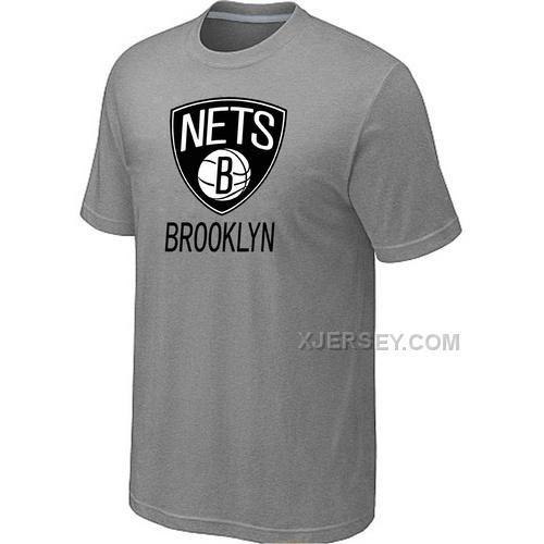 http://www.xjersey.com/brooklyn-nets-men-tshirt-lgrey.html BROOKLYN NETS MEN T-SHIRT L.GREY Only $27.00 , Free Shipping!