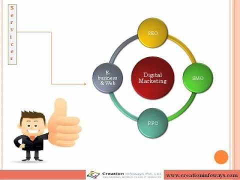 Digital Marketing is a platform to promote the brands through Internet, Creation infoways is a world class IT service provider that offers quality services to its customers and partners with affordable price.  Read More: