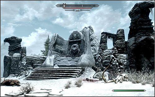 Typ lokacji: siedziba smoka - 5 - Środkowe Skyrim (01-21) - Mapy świata - The Elder Scrolls V: Skyrim - Atlas Świata - poradnik do gry (Gry online.pl, 01/17)