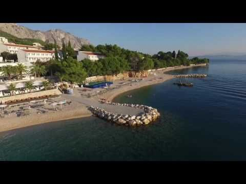 Medora Auri Family Beach Resort 4* - Podgora, Croatia - YouTube