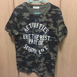 WEGO(ウィゴー)のWEGO 迷彩Tシャツ レディースのトップス(Tシャツ(半袖/袖なし))の商品写真