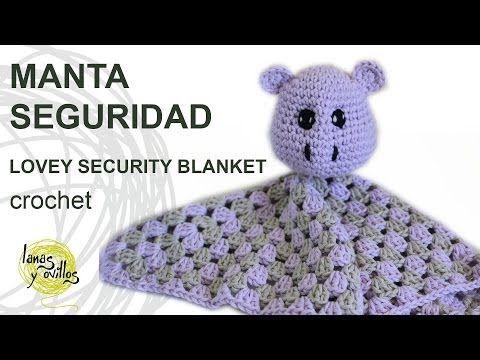 Manta de apego crochet | Manualidades