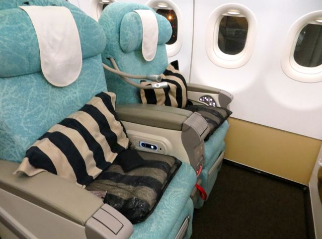 Etihad Business Class from Maldives to Abu Dhabi