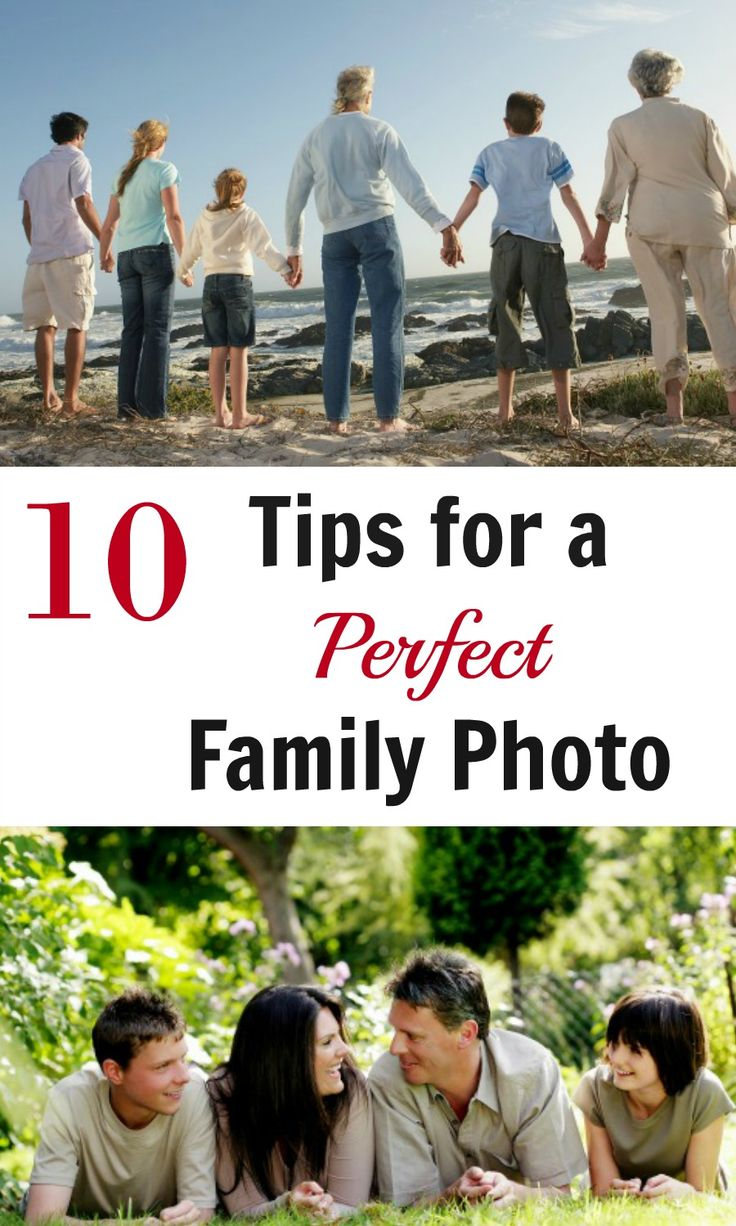 10 Tips to get the Perfect Family Photo