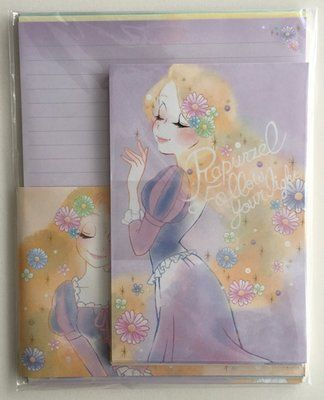 Disney by Kamio Letter Set | Rapunzel