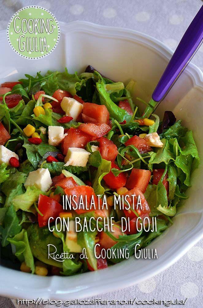 Bacche di goji e farro in insalata (Goji Bio Forlive: http://www.forlive.com/it/superfood/122-bacche-di-goji-bio.html)