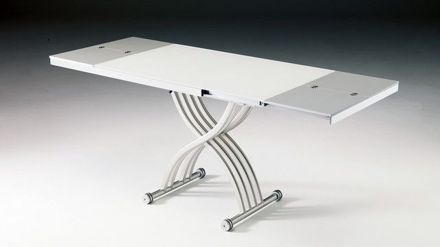 impressionnant  table basse relevable extensible