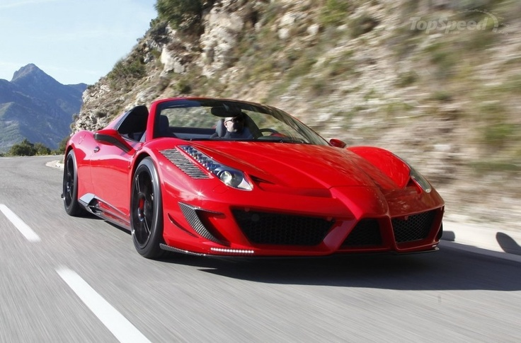 2012 Ferrari 458 Italia Spyder Monaco