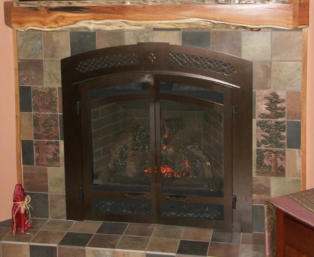 Fireplace Tiles Styles Fireplace Installation Ideas At