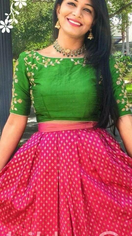 Lehenga blouse