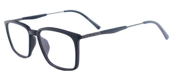 Men Rectangular Eyeglasses Frame Fashion TR90 Lightweight Spectacles Clear Glass… – Brillen Modelle