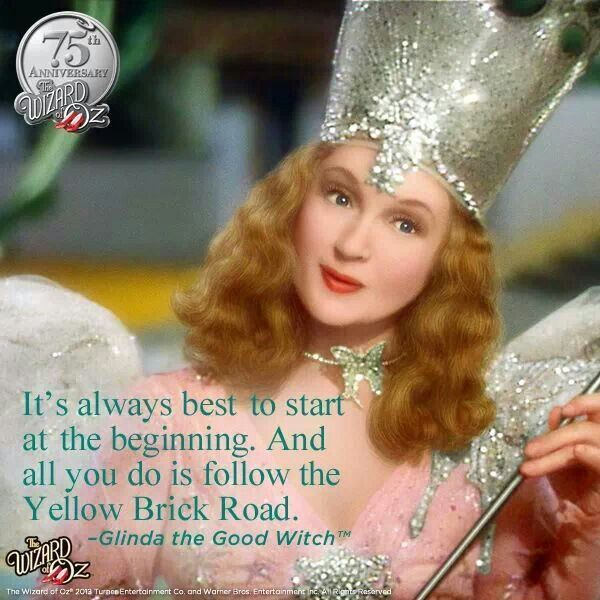 Yellow Brick Road Glinda Good Witch With Images Glenda The