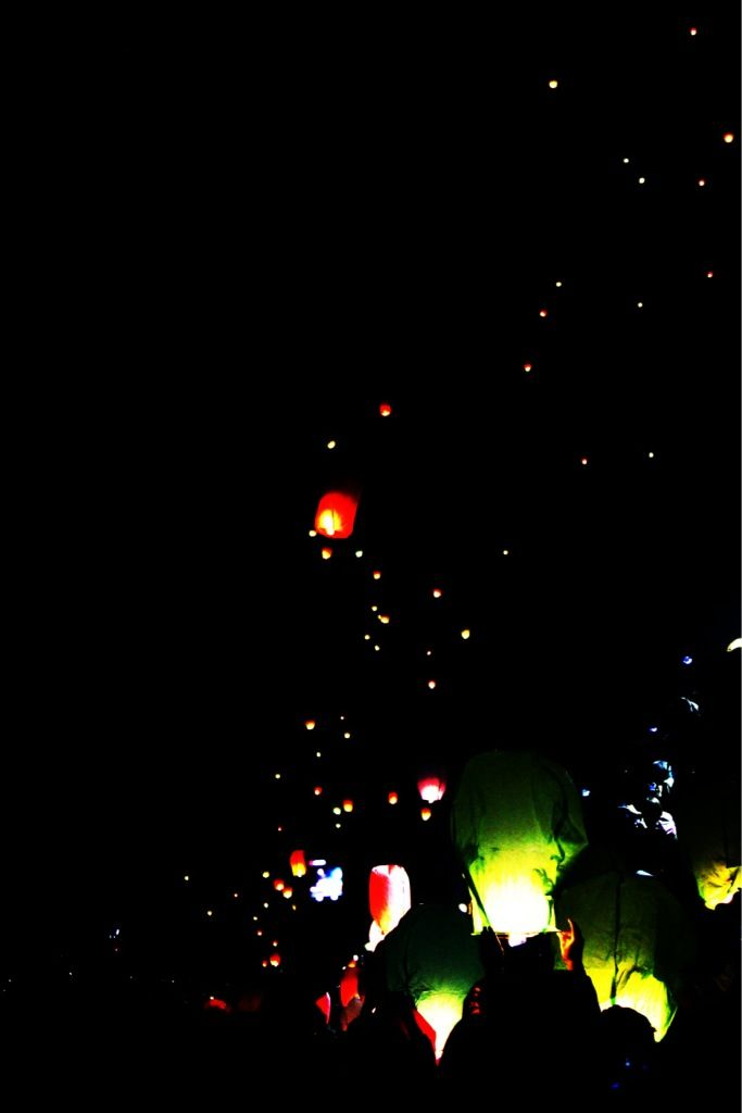 lampion festival, an annual event held in Semarang, Indonesia