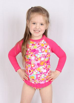 Spring is here! The days are about to get longer and warmer, stock up now on the HeavenLee Creations Rash Top.  http://www.shophouse.com.au/kids-clothing-girls/shop-by-brands/heavenlee-creations/fun-love-long-sleeve-rash-top