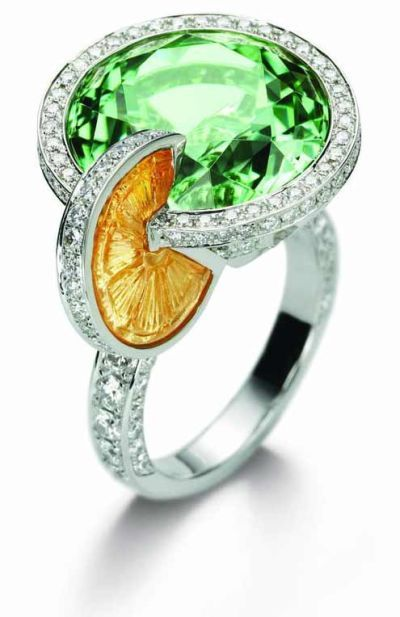 55 best Candy colored diamond rings images on Pinterest ...